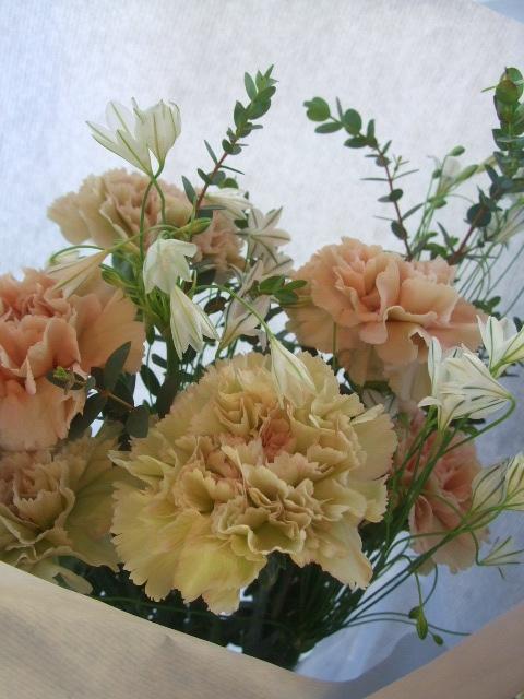 オークリーフ(母の日に贈る花束)_f0049672_14204879.jpg