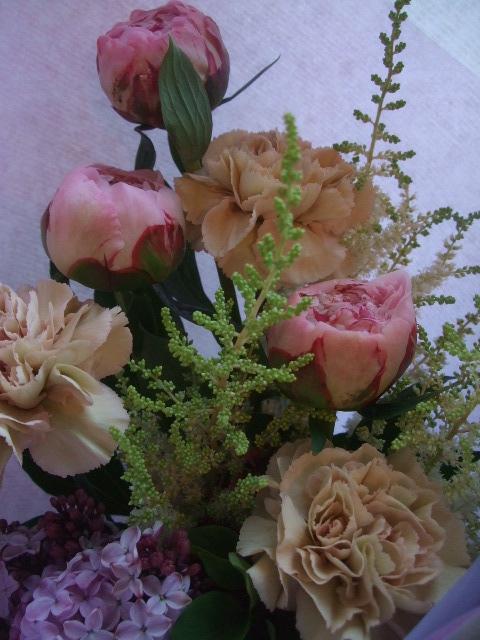 オークリーフ(母の日に贈る花束)_f0049672_14205337.jpg