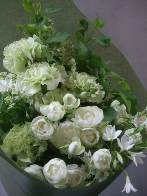 オークリーフ(母の日に贈る花束)_f0049672_14283385.jpg