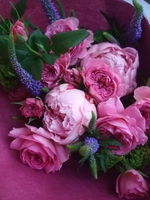 オークリーフ(母の日に贈る花束)_f0049672_14283572.jpg
