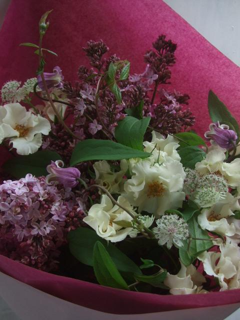 オークリーフ(母の日に贈る花束)_f0049672_14284778.jpg
