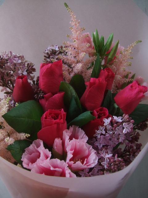 オークリーフ(母の日に贈る花束)_f0049672_14285711.jpg