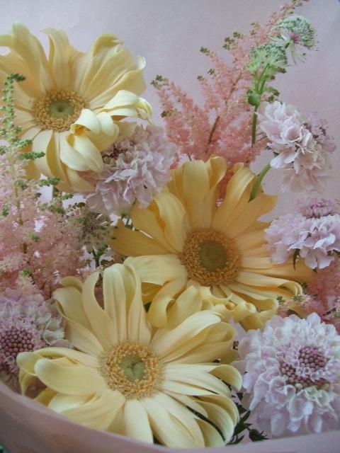 オークリーフ(母の日に贈る花束)_f0049672_17125645.jpg
