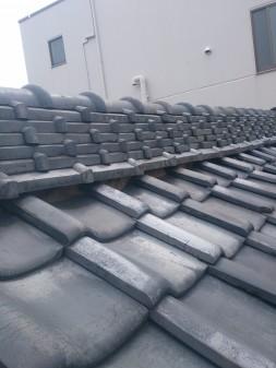 板橋区の上板橋で瓦屋根補修工事_c0223192_1853578.jpg