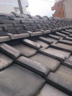 板橋区の上板橋で瓦屋根補修工事_c0223192_1873912.jpg