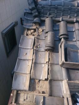 板橋区の上板橋で瓦屋根補修工事_c0223192_1875478.jpg