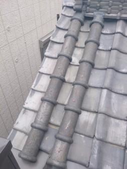 板橋区の上板橋で瓦屋根補修工事_c0223192_188258.jpg