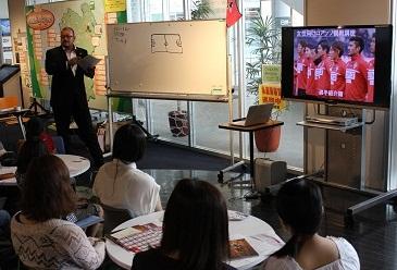 女性のためのロアッソ熊本観戦講座を開催しました♪_b0228113_09550850.jpg