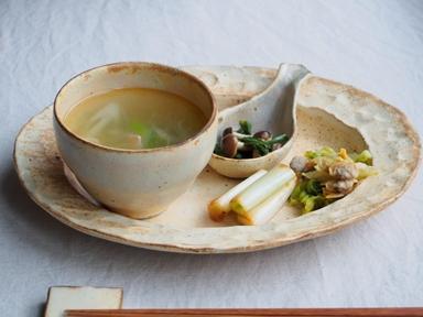 体を温めるスープを。_b0277136_7523733.jpg