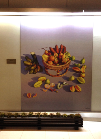 タイ空港内のアート_d0156336_22333792.jpg