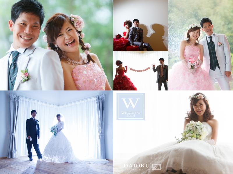 結婚式の前撮り 当店スタジオにて_c0224169_13072668.jpg