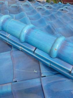 練馬区の西大泉で瓦屋根修理_c0223192_1847157.jpg
