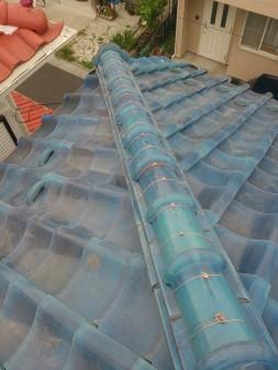 練馬区の西大泉で瓦屋根修理_c0223192_18485621.jpg