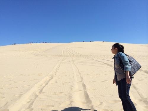 砂漠「疑似」体験!? ピラ砂丘で童心を取り戻す・・・_b0318498_04104799.jpg