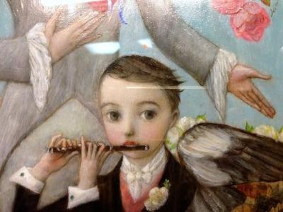 「幸福の王子」展  しあわせの余韻 7_c0203401_19261212.jpg