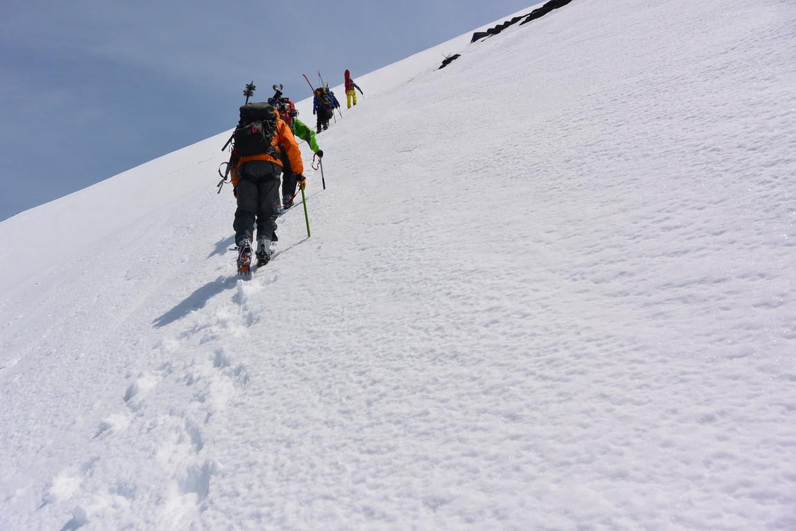 """2014年5月 『富士山大滑降』 May 2014 \""""Ski in Mt Fuji\""""_c0219616_16401458.jpg"""