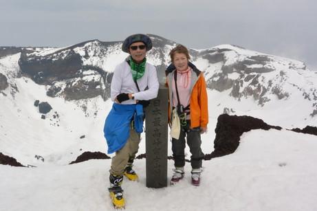 """2014年5月 『富士山大滑降』 May 2014 \""""Ski in Mt Fuji\""""_c0219616_1726164.jpg"""