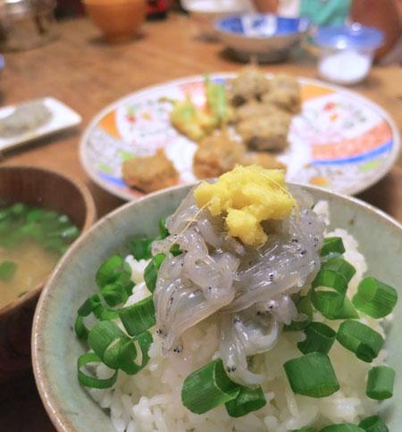 soul food・soul drink/ 洗わない生しらす_c0089242_1061427.jpg