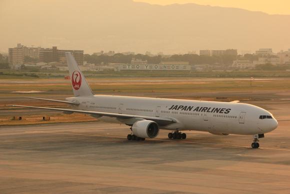 伊丹空港 夕方_d0202264_5484358.jpg