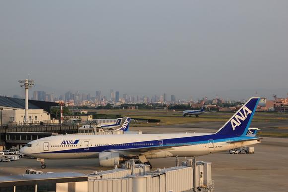 伊丹空港 夕方_d0202264_5494147.jpg