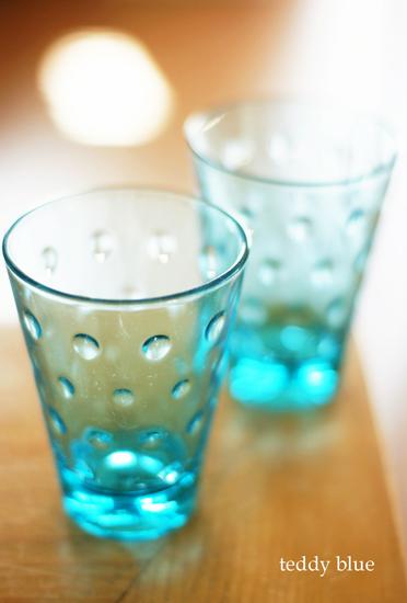 Hazel Atlas Capri blue  ヘイゼルアトラス カプリグラス_e0253364_11384721.jpg