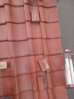 練馬区の早宮で瓦ずれ直し工事_c0223192_18242848.jpg
