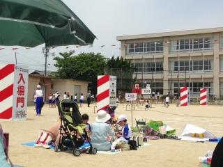 運動会入場門の製作_c0215194_20204439.jpg