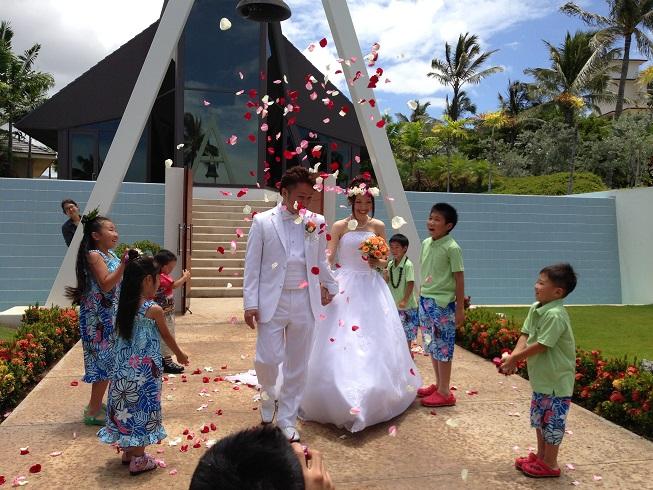 2013ハワイ「ホヌカイラニ教会で結婚式」_f0011498_13594694.jpg