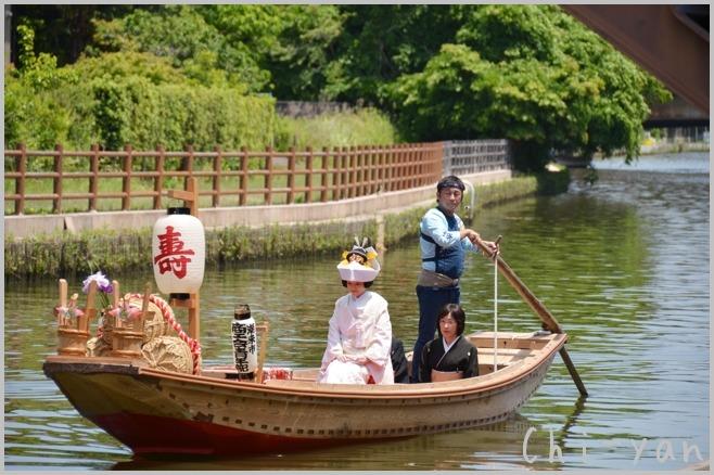 水郷潮来の 「あやめまつり」 と 「嫁入り舟」_e0219011_10332215.jpg