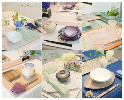 紫陽花で爽やかなおもてなしコーディネート♪ ~テーブル&フードクラス_d0162543_027544.jpg