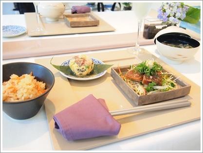 紫陽花で爽やかなおもてなしコーディネート♪ ~テーブル&フードクラス_d0162543_0301259.jpg