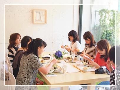 紫陽花で爽やかなおもてなしコーディネート♪ ~テーブル&フードクラス_d0162543_0364563.jpg