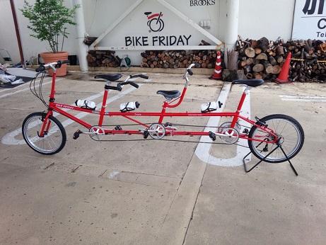 納車 Bike Friday_d0147944_14592751.jpg