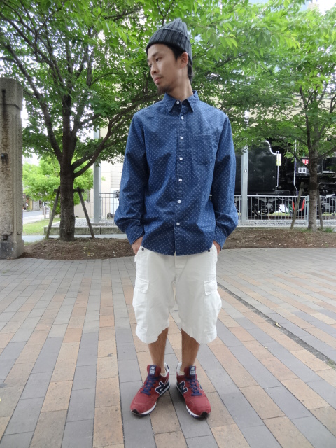 68&BROTHERS M65 Cargo Shorts Style_a0221253_1730294.jpg