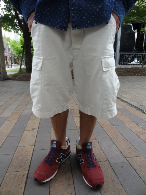 68&BROTHERS M65 Cargo Shorts Style_a0221253_17371312.jpg