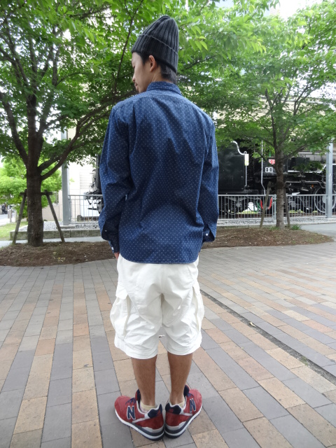 68&BROTHERS M65 Cargo Shorts Style_a0221253_17383185.jpg