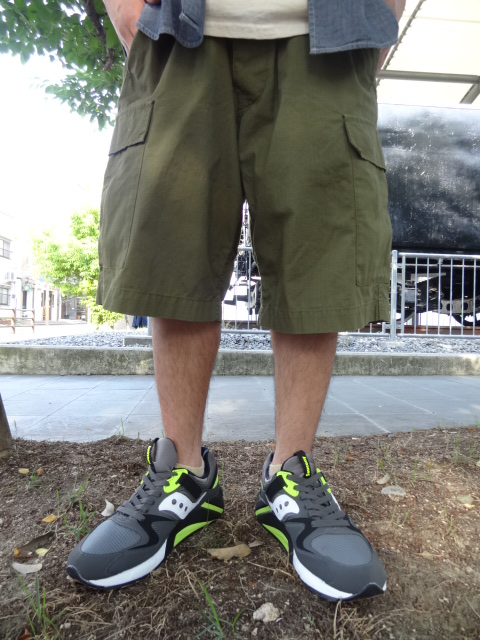 68&BROTHERS M65 Cargo Shorts Style_a0221253_17445352.jpg