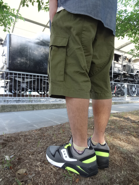68&BROTHERS M65 Cargo Shorts Style_a0221253_17465522.jpg