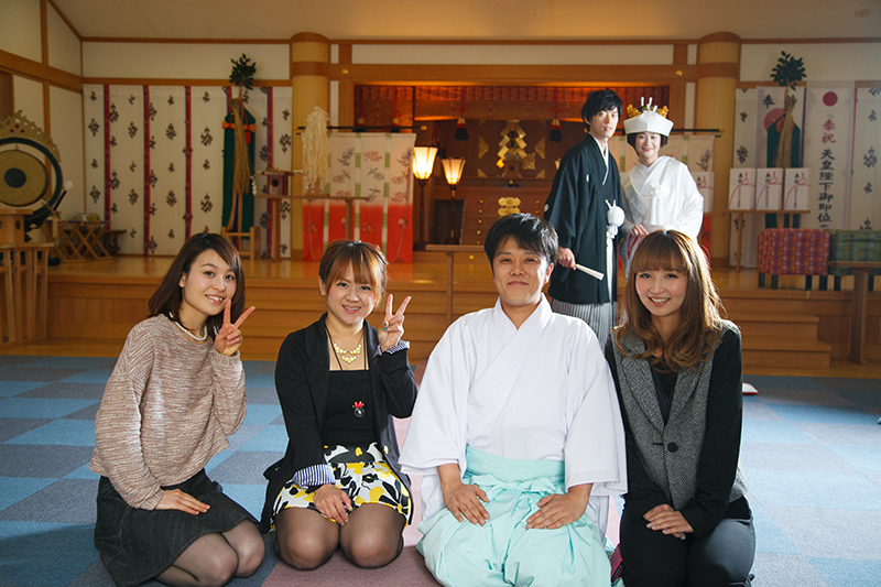 結婚式の前撮り 宇賀多神社にて_c0224169_16585575.jpg