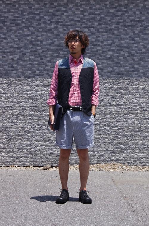 kolor, T.B & JUNYA MAN - Tuck in style!!_c0079892_20535548.jpg