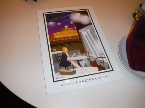 新イタリアン「リストランテ カリエラ」オープン(トウハラが店名からデザイン関係担当しました)_c0061896_09361844.jpg