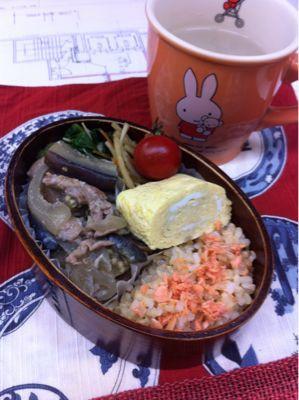 ナスの味噌炒め_d0235108_1215127.jpg