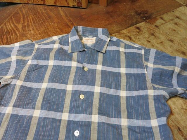 5/31(土)入荷!60'S TOWN CRAFT ボックスシャツ!_c0144020_160249.jpg