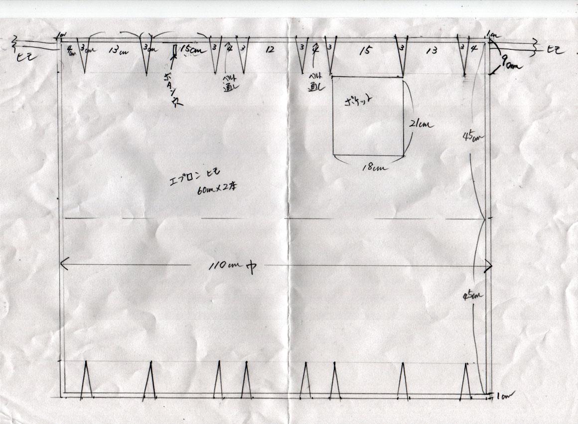 カフェエプロン 作り方 体に添う!_f0129726_21501383.jpg