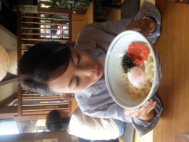 姉とうどん!_e0114246_2101964.jpg