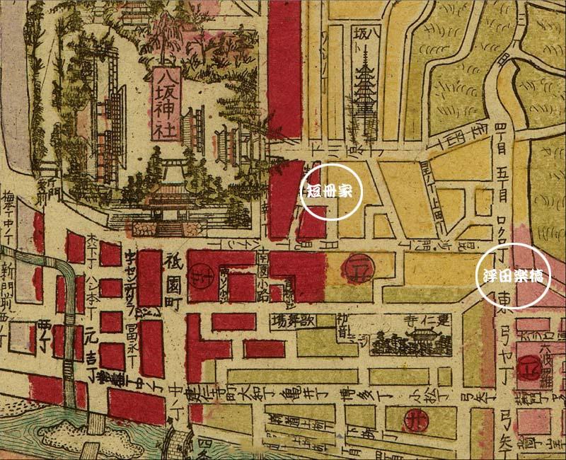 京都古地図上の窯元                 No.1403_d0103457_1148365.jpg