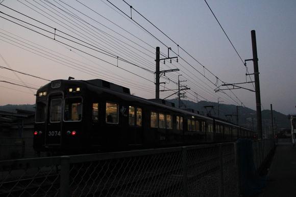 阪急 箕面線 3074F 週末_d0202264_22481988.jpg