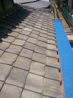 さいたま市南区で瓦屋根修理工事_c0223192_21231144.jpg