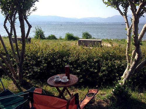 琵琶湖カフェ_f0023482_18474917.jpg