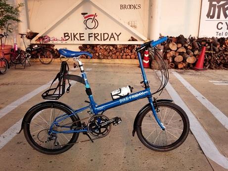 納車 Bike Friday_d0147944_16264928.jpg